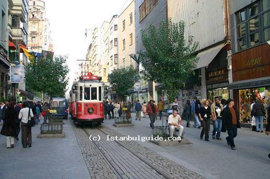 Visit the Istiklal Street