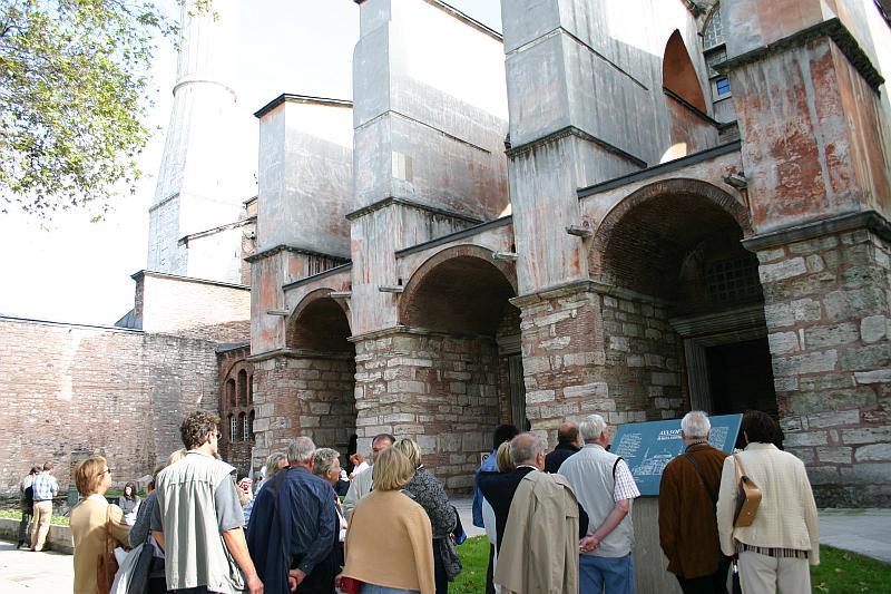 Visit the Hagia Sophia