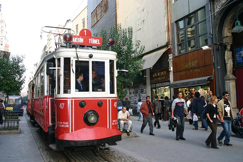 Nostalgic Trams of Istanbul